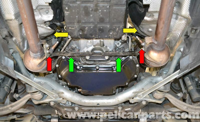 Mercedes-benz W204 Oxygen Sensor Replacement