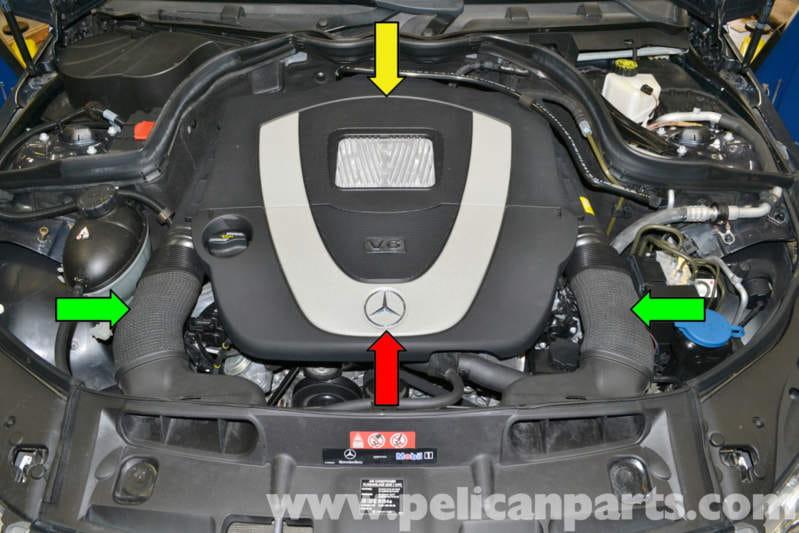 Mercedesbenz W204 Map Sensor Replacement 20082014 C250 C300 Rhpelicanparts: Map Sensor Location Mercedes At Elf-jo.com