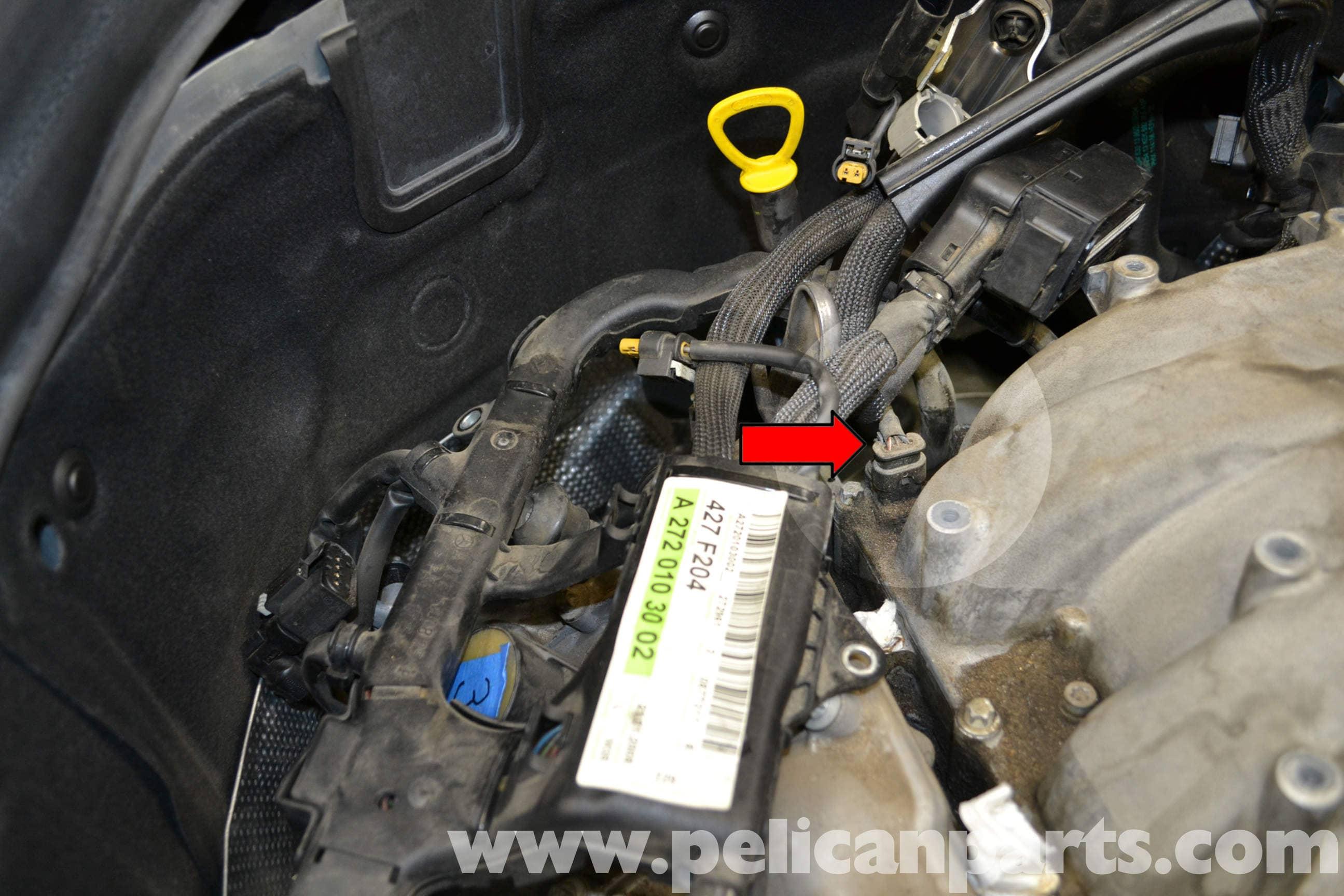 Mercedes benz w204 tumble flap position sensor replacement for Mercedes benz c300 engine