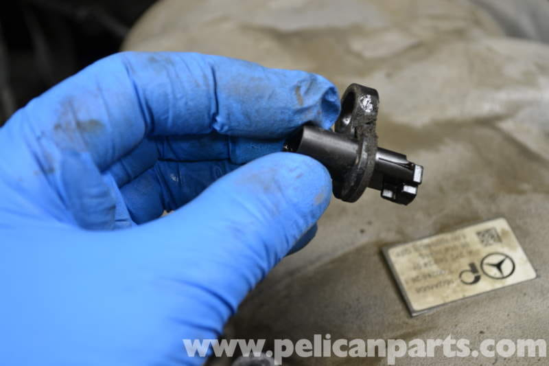 Mercedes-Benz W204 Tumble Flap Position Sensor Replacement - (2008
