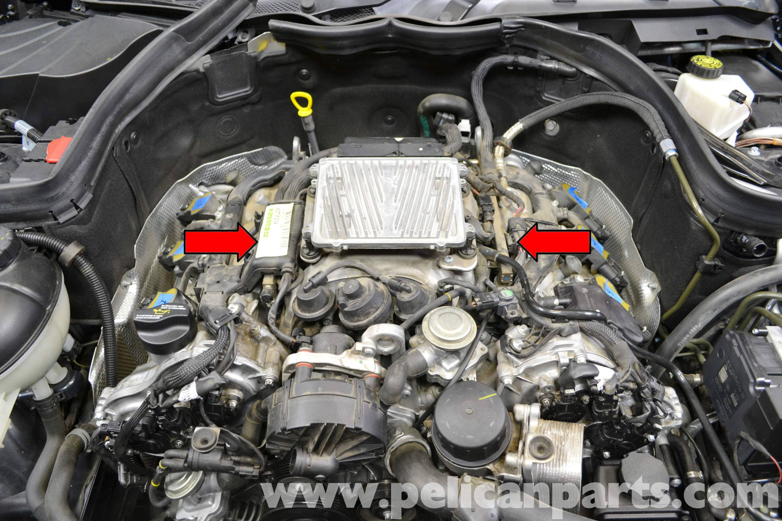 Mercedes-benz W204 Intake Manifold Replacement