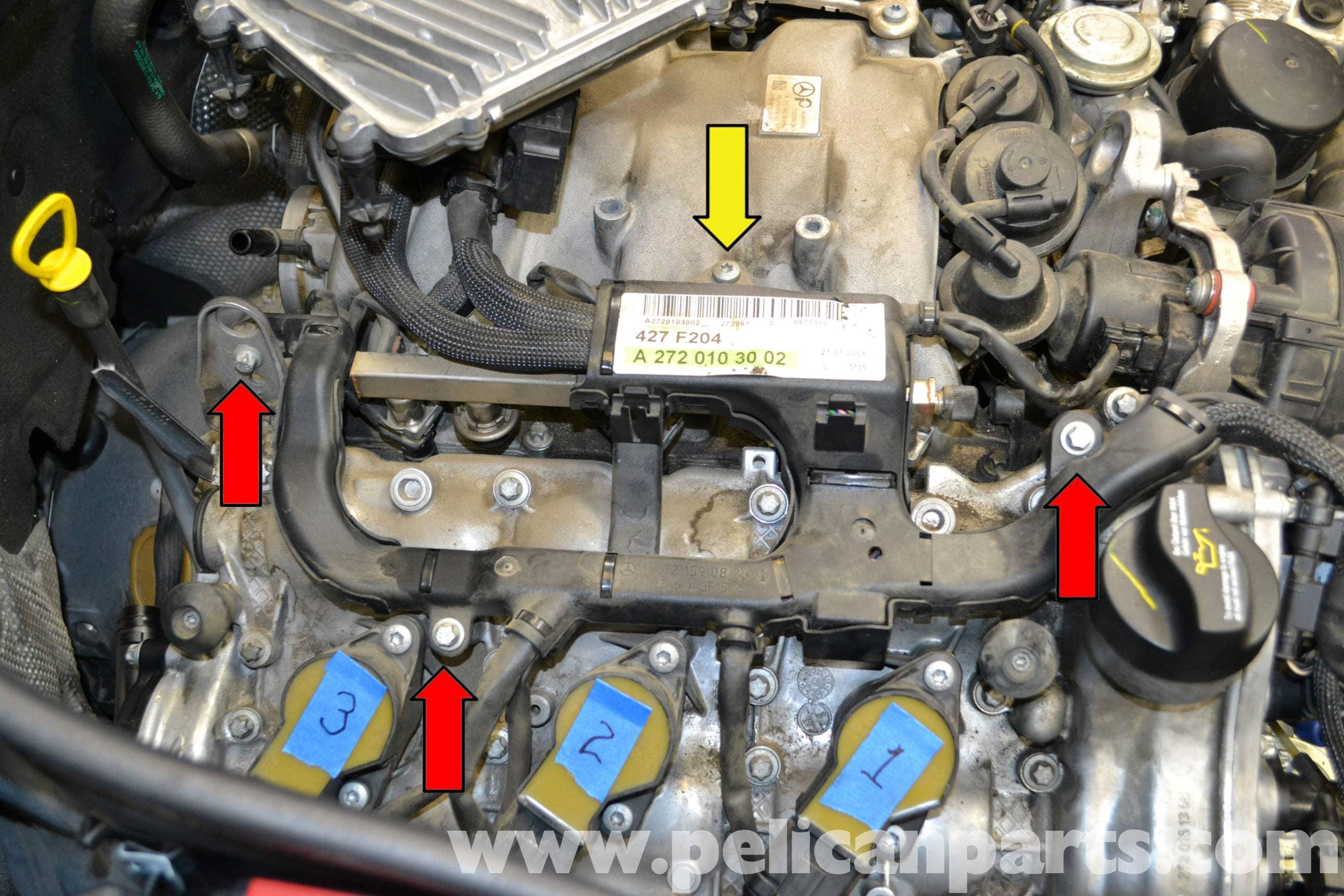 Mercedes-Benz W204 Intake Manifold Replacement - (2008-2014) C250