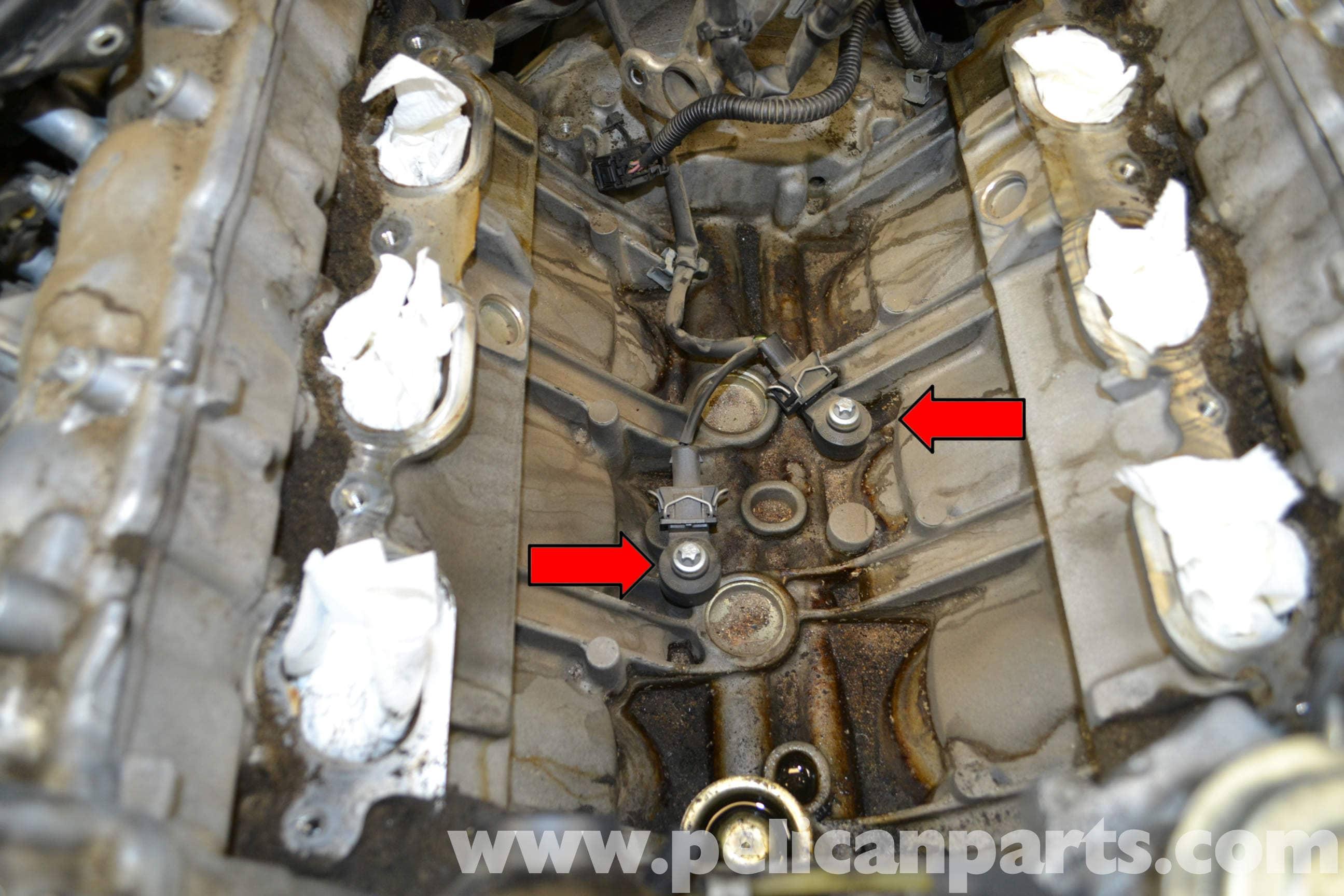 Mercedes-Benz W204 Knock Sensors Replacement - (2008-2014