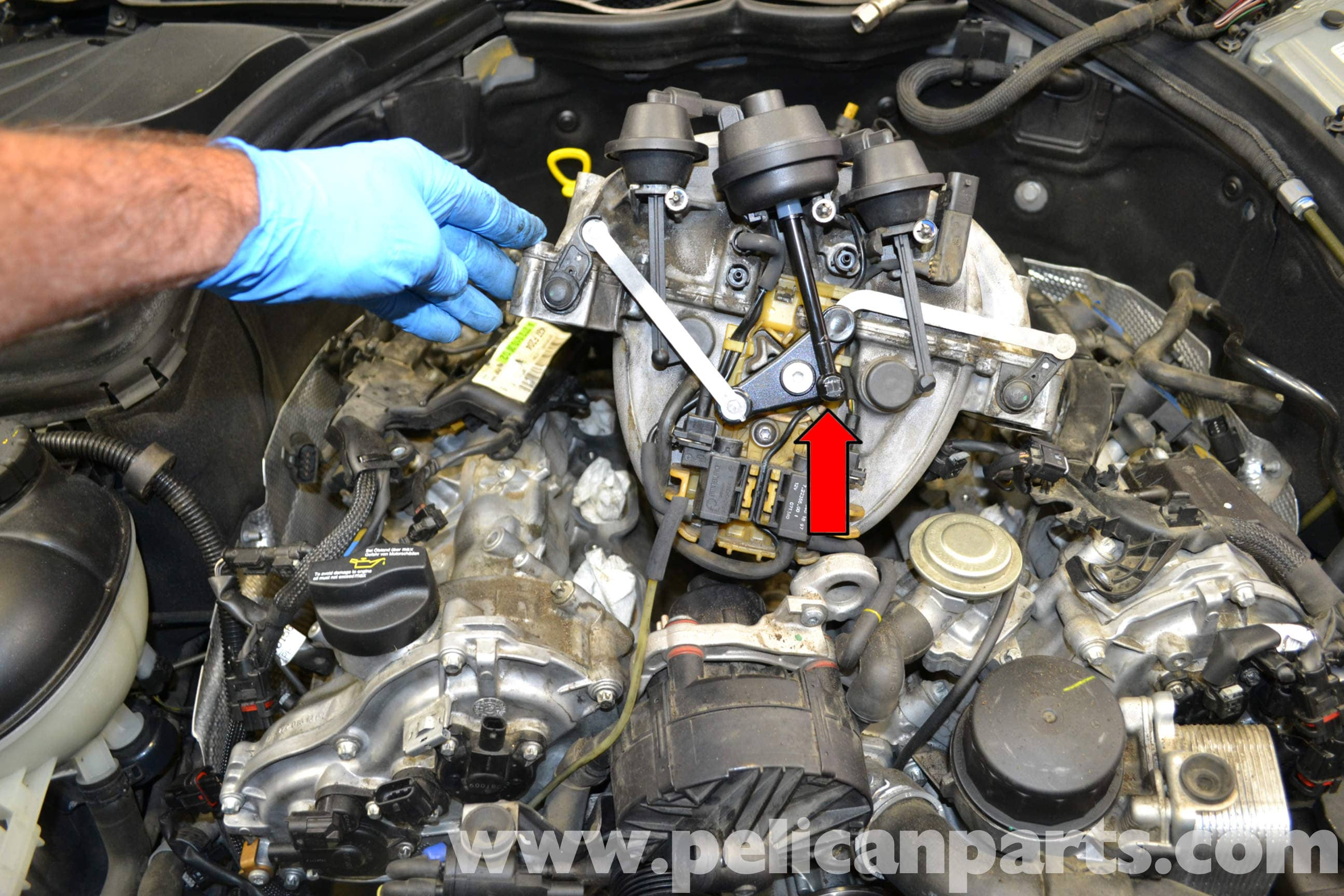 Mercedes Benz W204 Tumble Flap Actuator Repair 2008 2014 C250 Cls 550 Wide Kit Large Image Extra