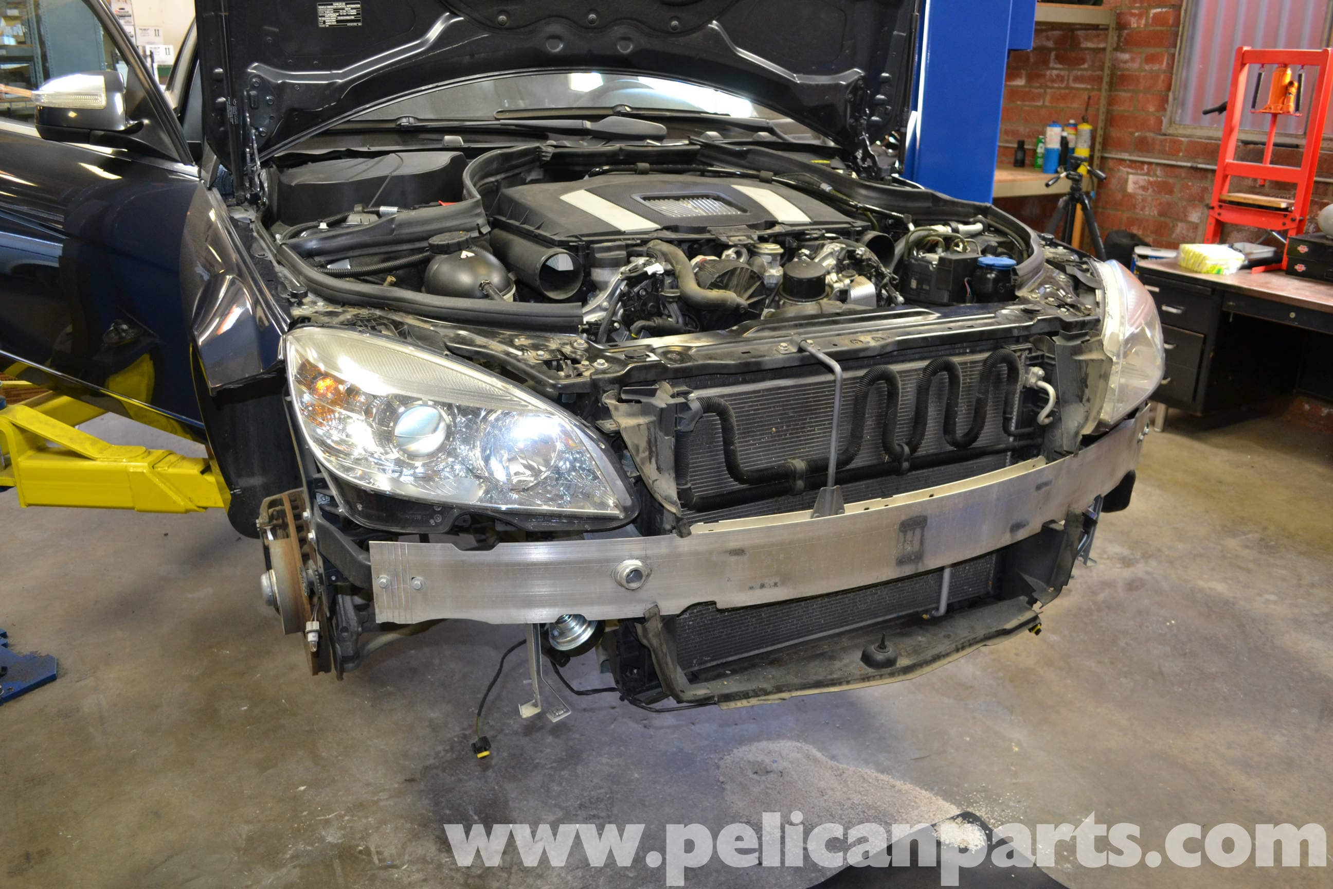 Mercedes-Benz W204 Headlight Bulb and Assembly Replacement