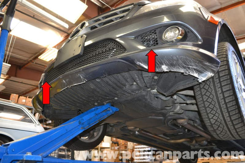 Mercedes Benz W204 Horn Removal 2008 2014 C250 C300