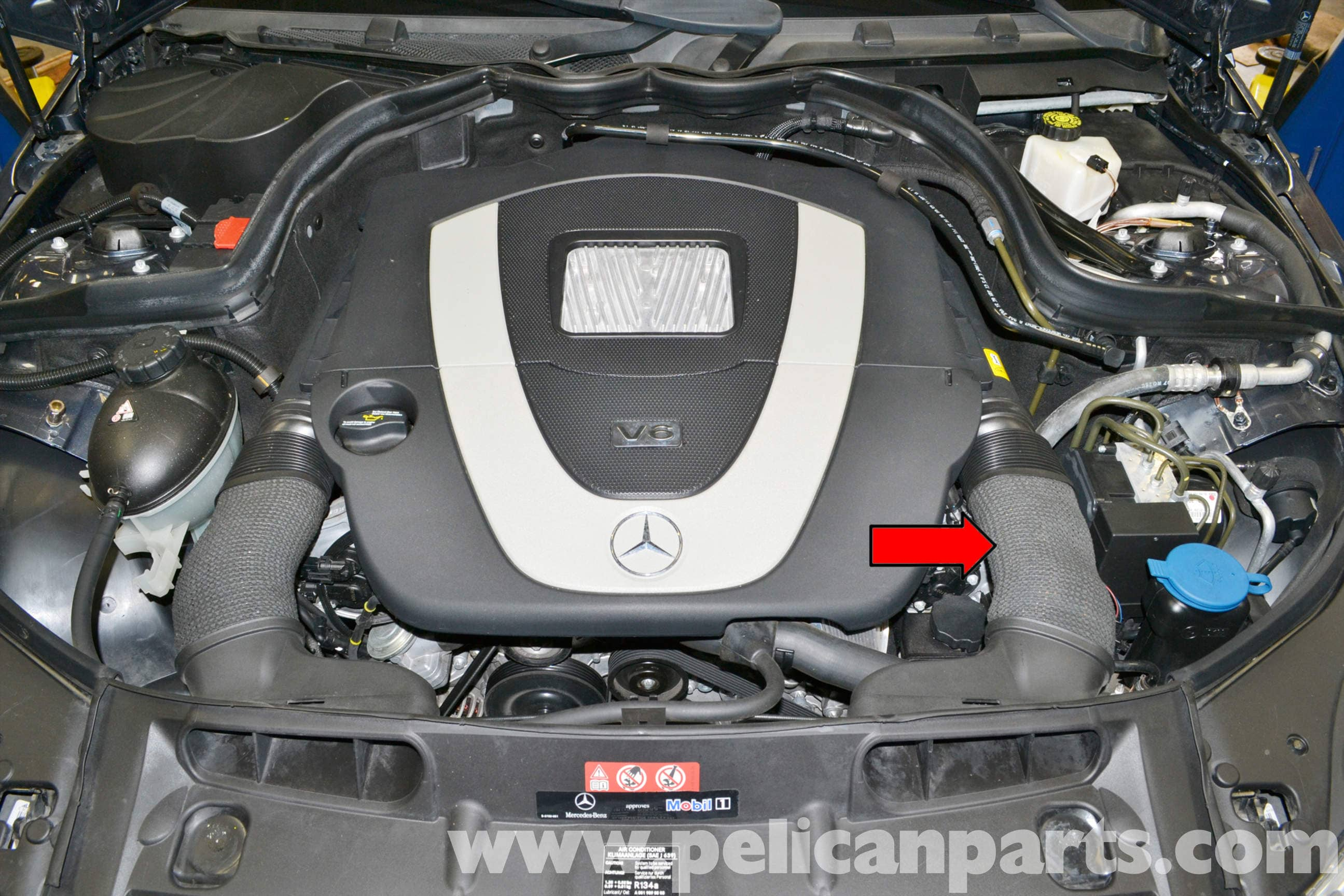 Mercedes benz w204 purge valve replacement 2008 2014 for Mercedes benz locations