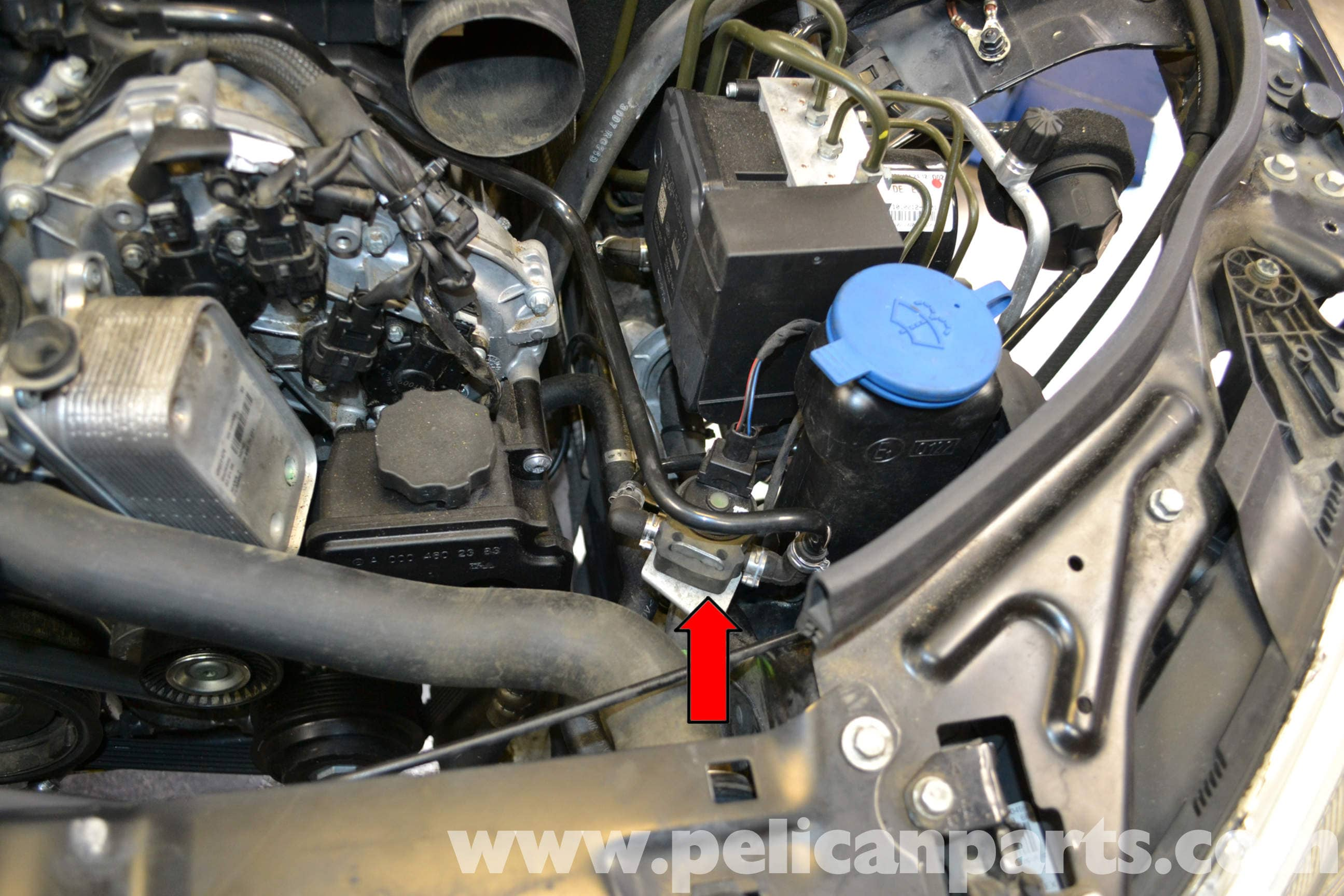 mercedes-benz w204 purge valve replacement