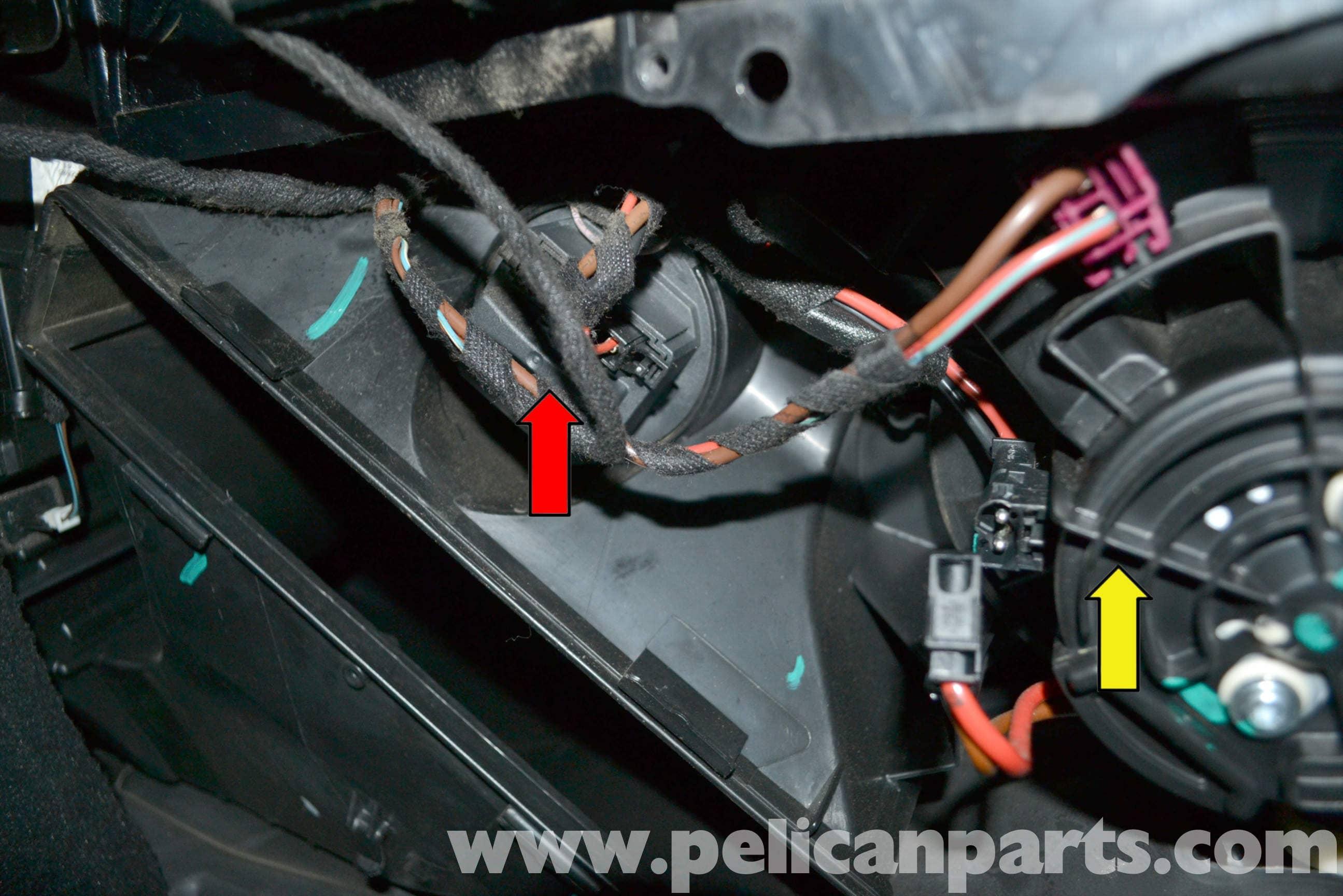Mercedes-Benz W204 Blower Motor Resistor Replacement - (2008-2014