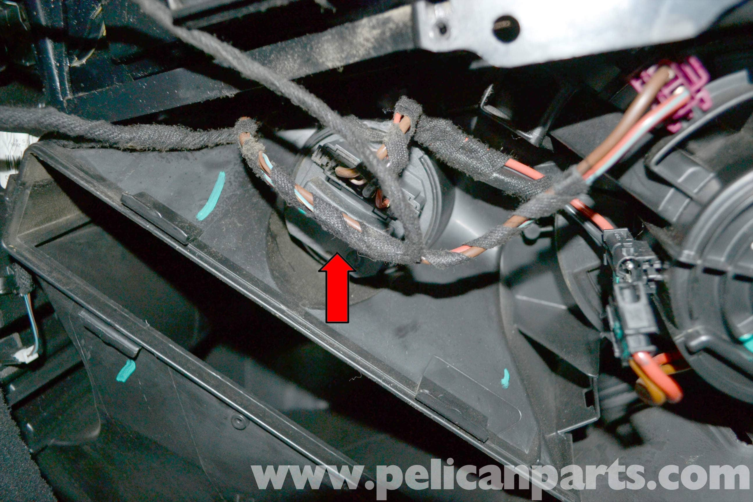 Mercedes-Benz W204 Blower Motor Resistor Replacement - (2008-2014