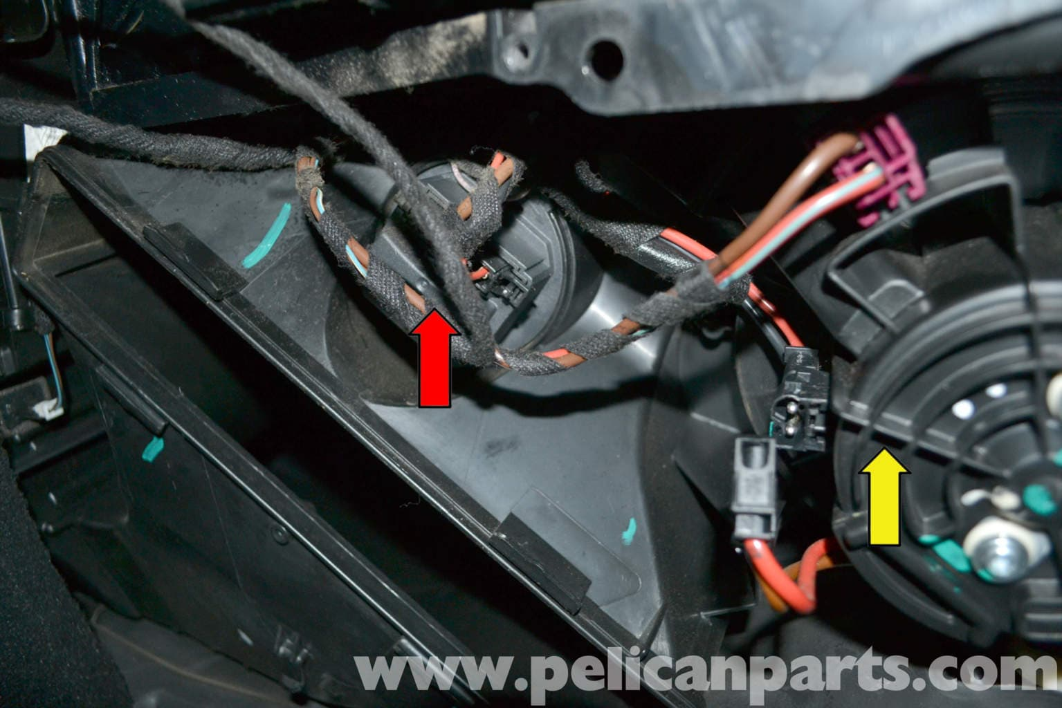 Mercedes Benz W204 Blower Motor Resistor Replacement