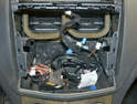 While installing an aftermarket stereo is beyond the scope of this article you will have a large opening to work with if you go that route.