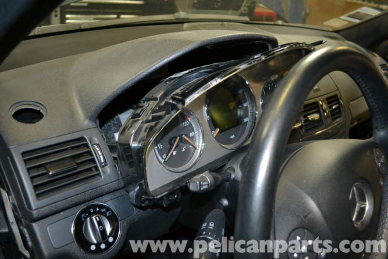 Mercedes-Benz W204 Instrument Cluster Removal - (2008-2014) C250