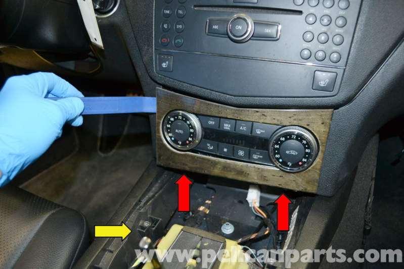 mercedesbenz w204 climate controls replacement 2008