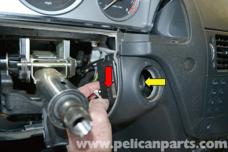 Mercedes-benz W204 Ignition Switch Replacement