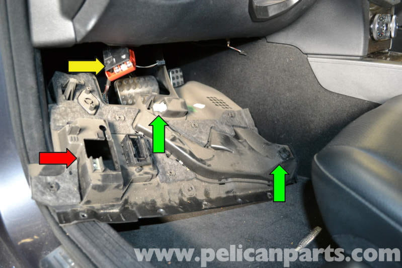 Mercedes Benz W204 Brake Light Switch Replacement 2008
