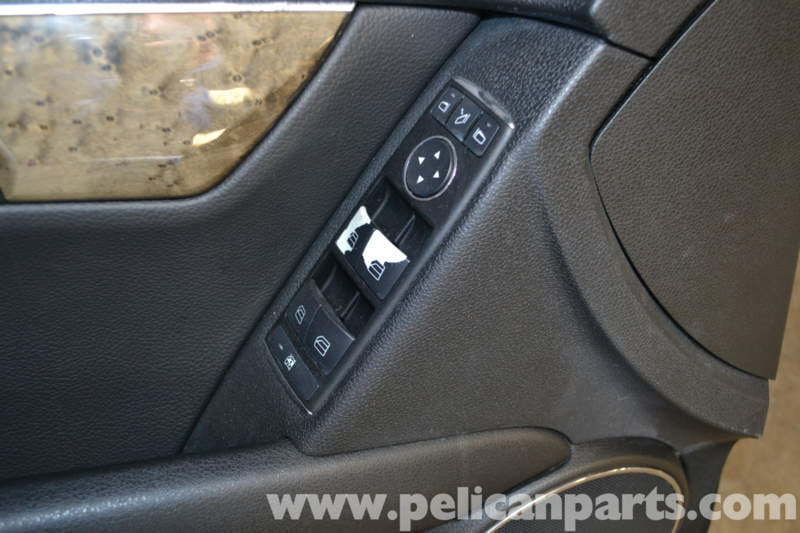 Mercedes Benz W204 Window And Mirror Switch Replacement
