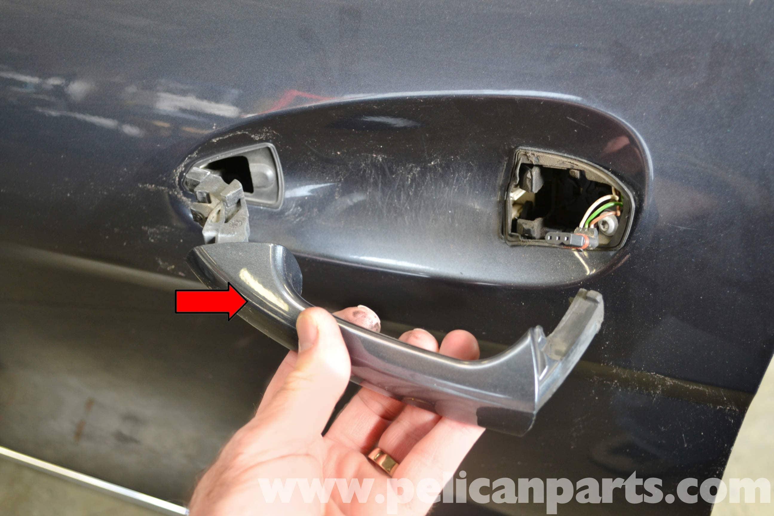 Mercedes Benz W204 Exterior Door Handle Removal 2008