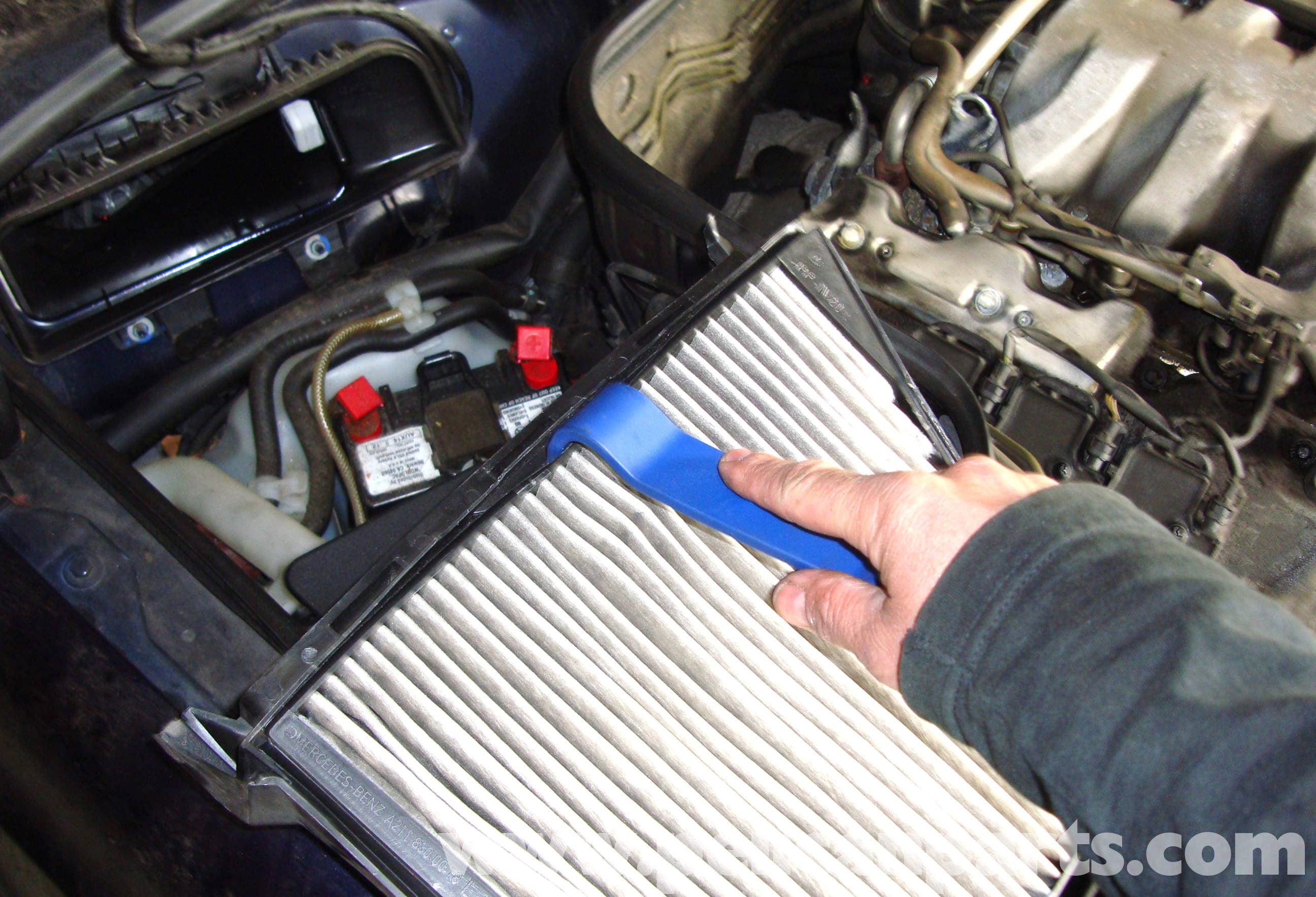 Mercedes-Benz W211 Cabin Air Filter Replacement (2003-2009) E320