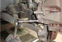 Front Brake Caliper Remove the 7mm Allen head caliper mounting pins.