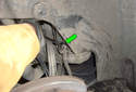 Rear Brake Hose ThisPicture illustrates the right rear wheel house.