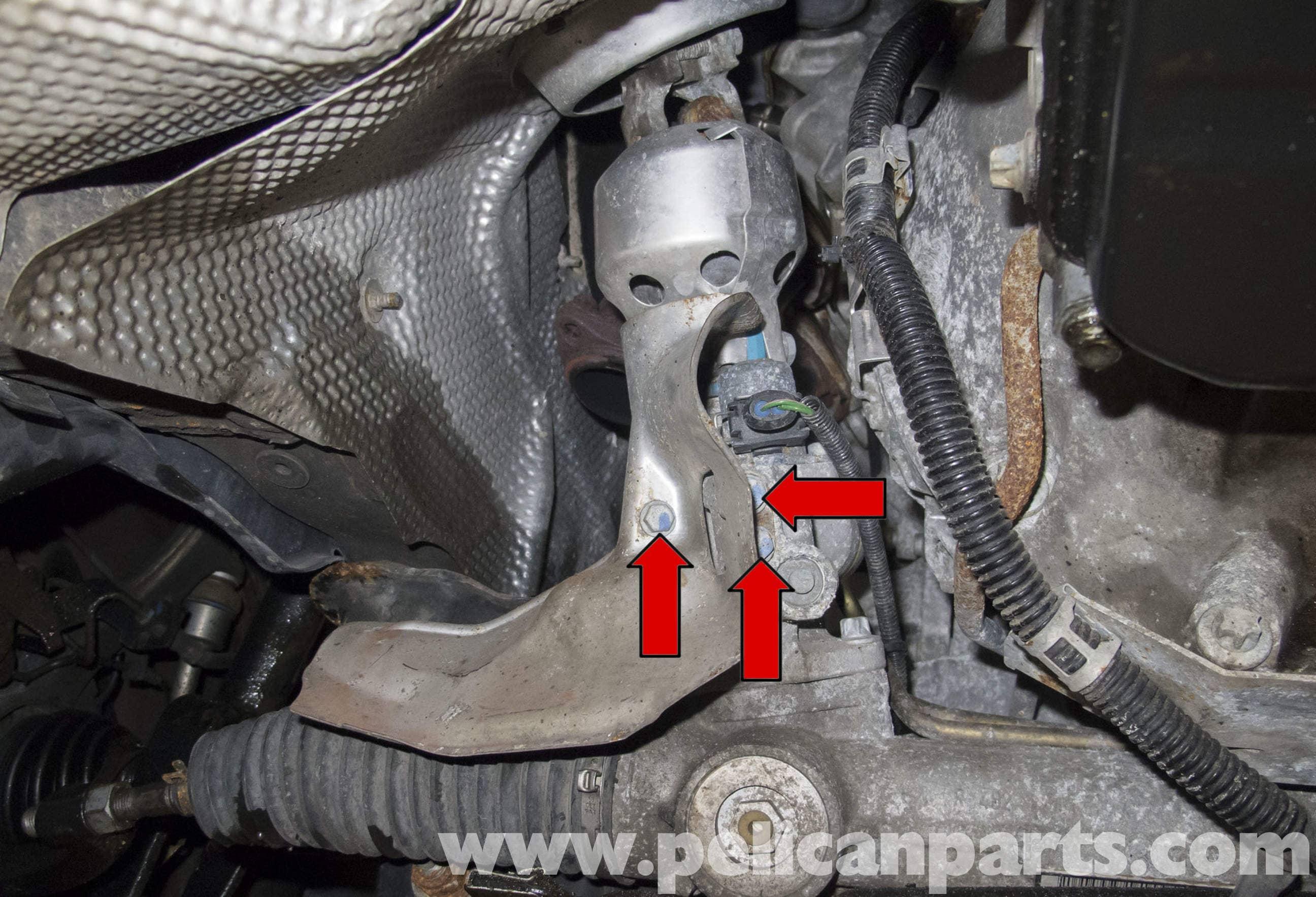 Mercedes Benz W211 Steering Rack Replacement 2003 2009