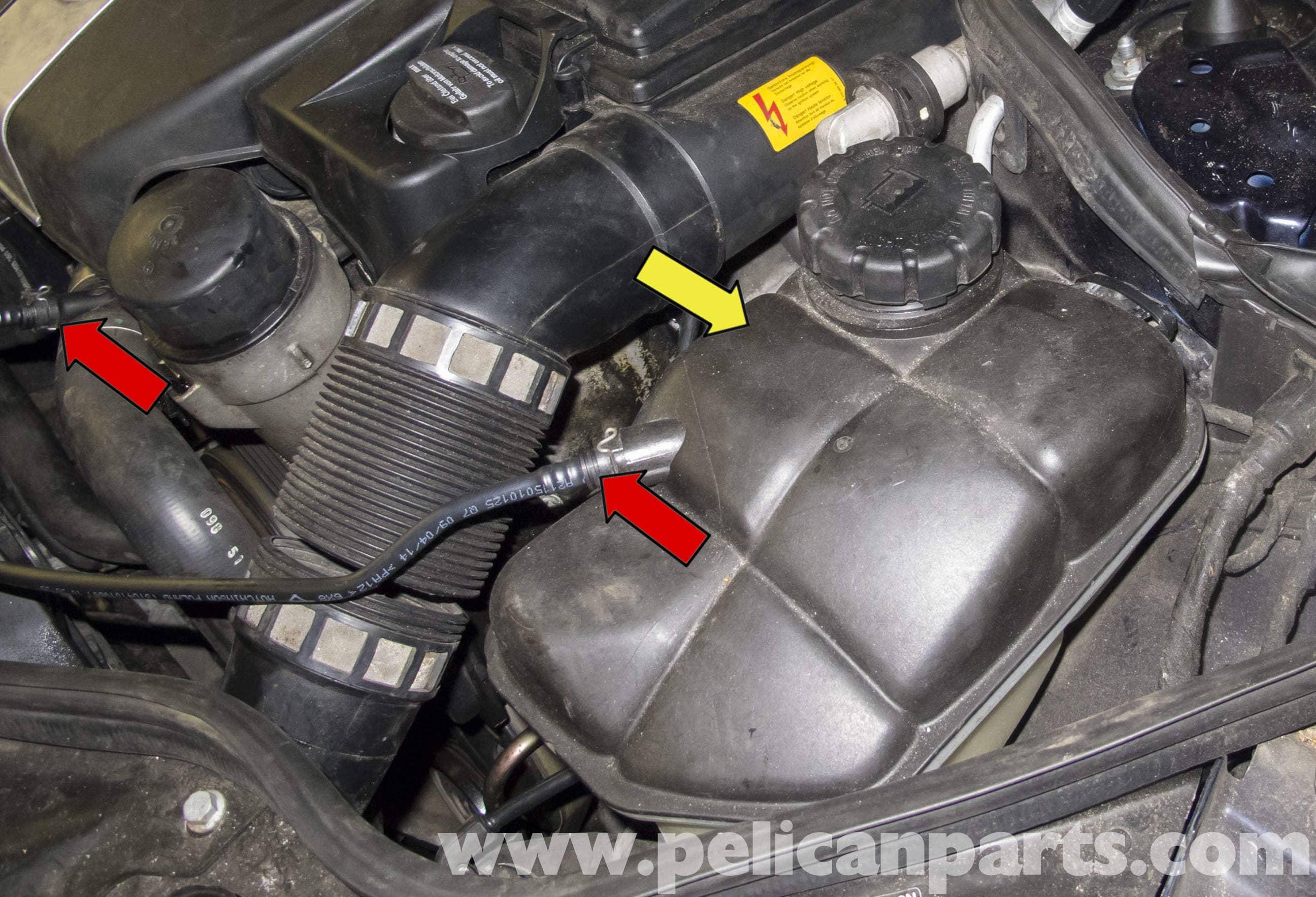 Mercedes Benz W211 Cooling System Leak Test 2003 2009 E320 E500