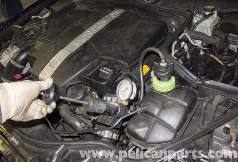 Mercedes-Benz W211 Cooling System Leak Test (2003-2009) E320, E500