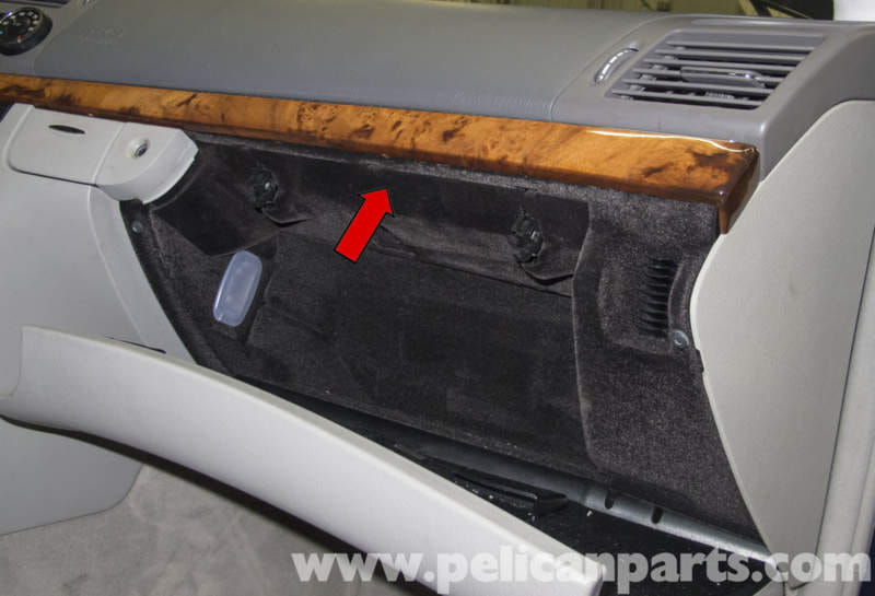 Mercedes Benz W211 Glove Box Latch Lock Cylinder