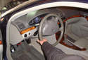 Outer Tie Rod Turn the ignition ON, then turn the steering wheel in the opposite direction of the tie rod end you are going to replace.