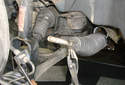 Inner Tie Rod Remove the inner tie rod outer boot clamp by squeezing it with pliers and pulling it off the steering shaft.
