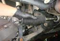 Inner Tie Rod Pull the inner tie rod boot off of the inner tie rod.