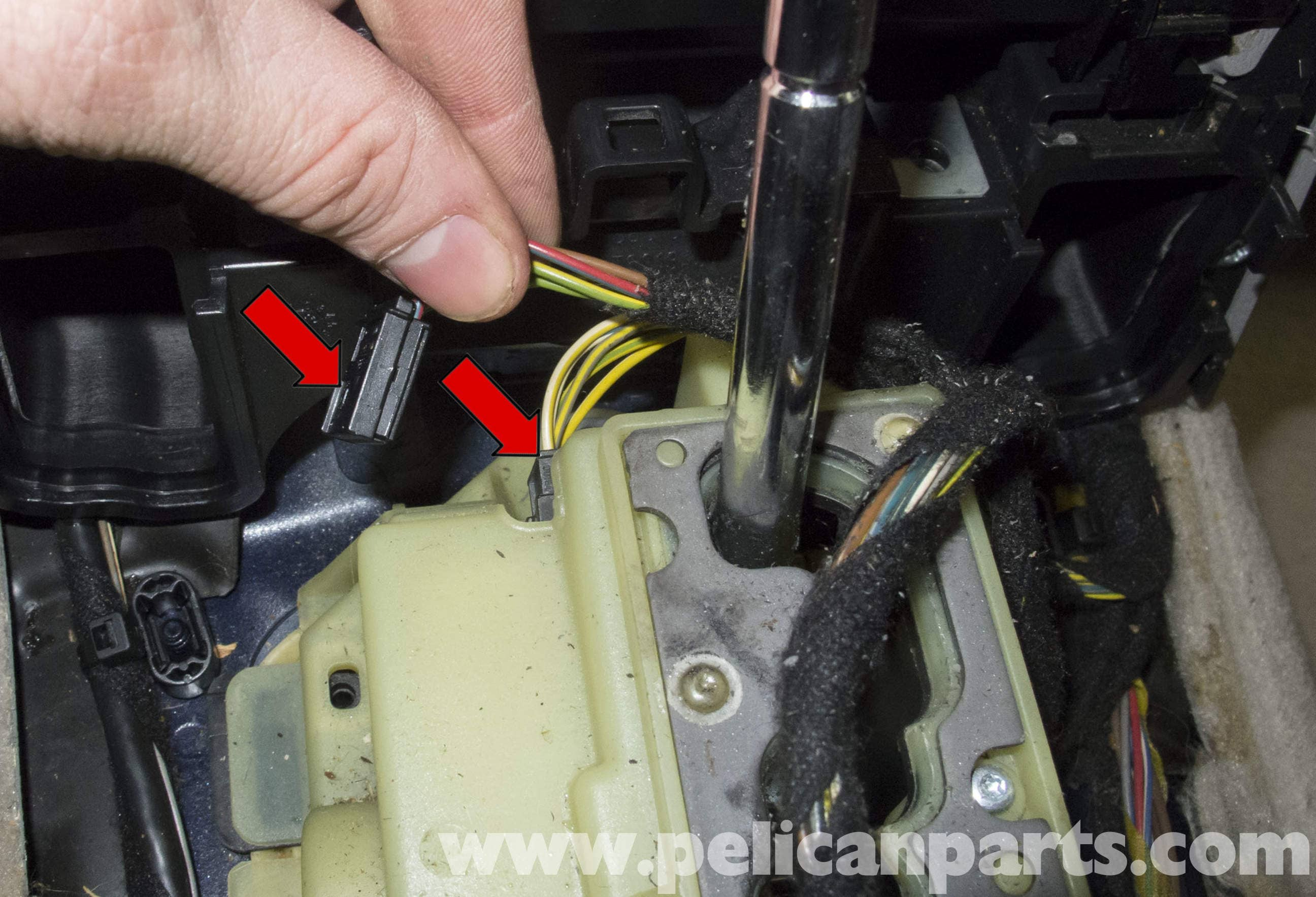 Mercedes-Benz W211 Transmission Shift Module Replacement