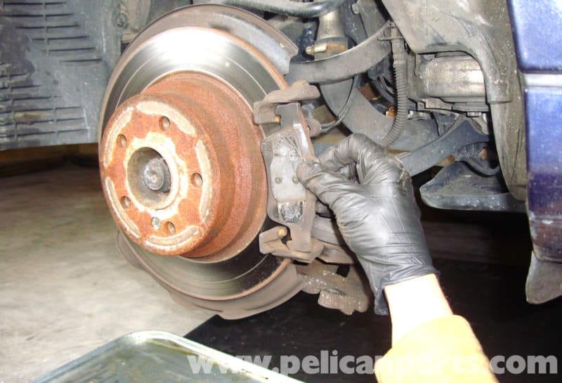 Mercedes-Benz W211 Brake Pad Replacement (2003-2009) E320 ...