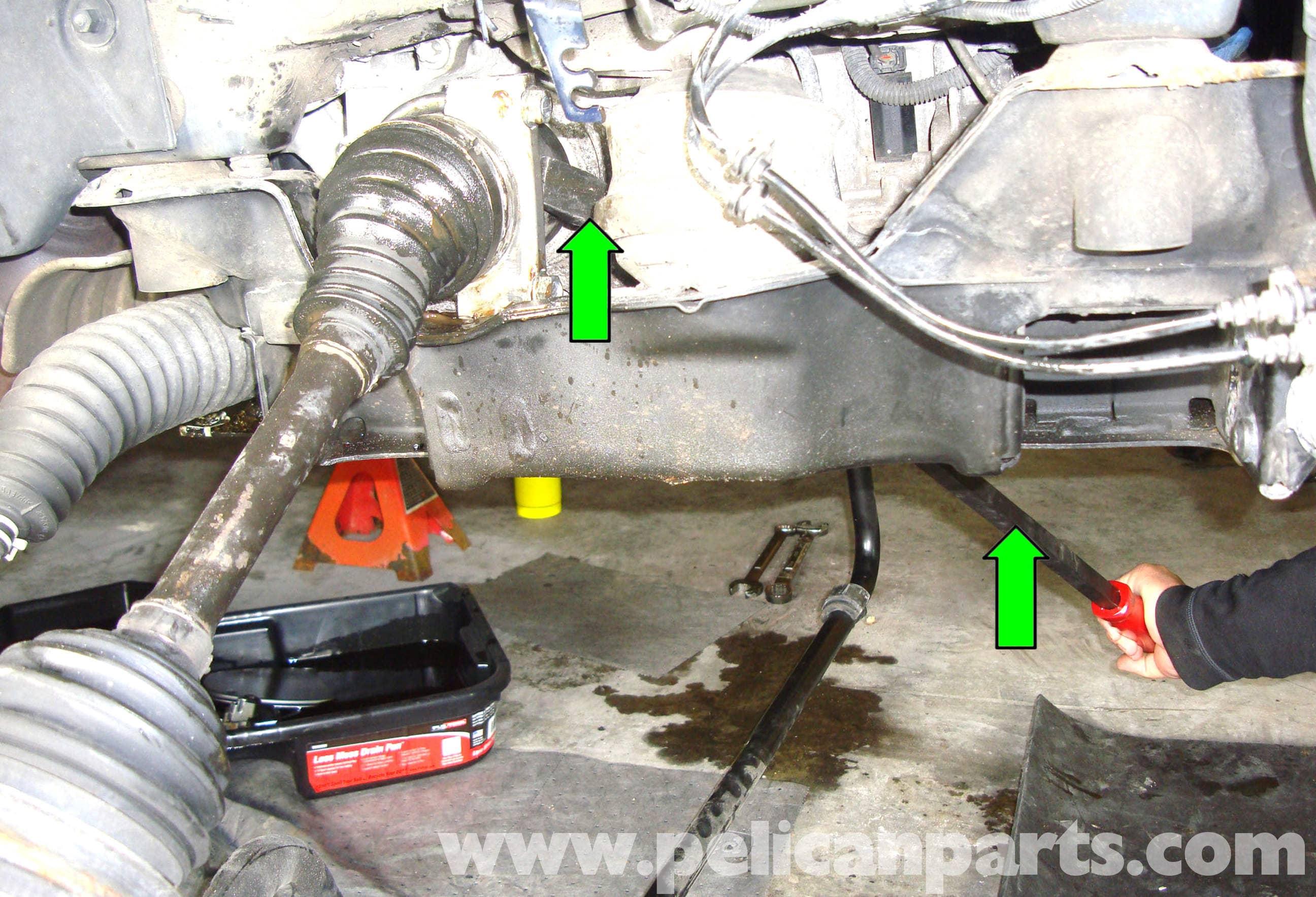 Mercedes Benz W211 Front Axle Shaft Replacement 2003 2009 E320 E500 E55 Pelican Parts Diy