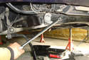 Remove or lower the front sway bar.