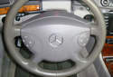 Turn the ignition switch on and move the steering wheel to the straight-ahead position.