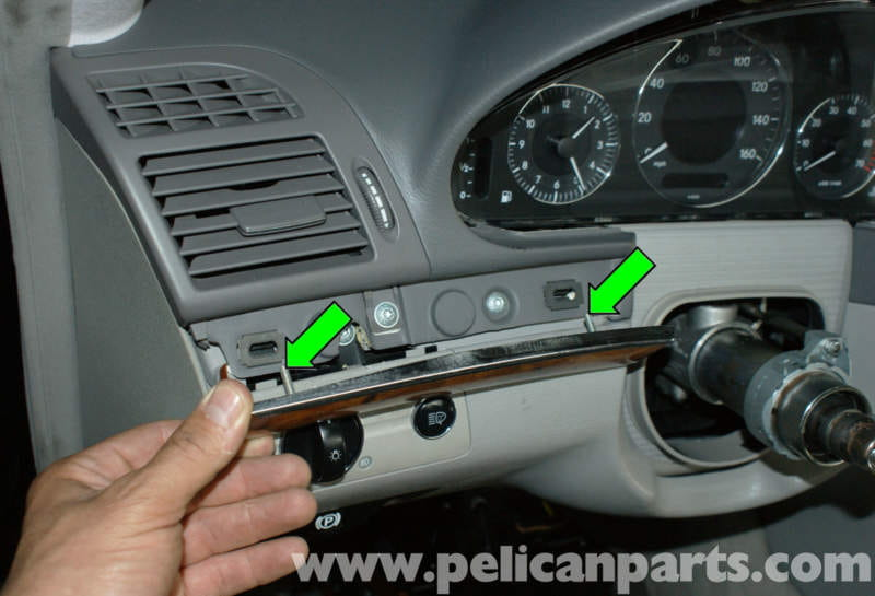 Mercedes Benz W211 Upper Dashboard Cover Replacement 2003
