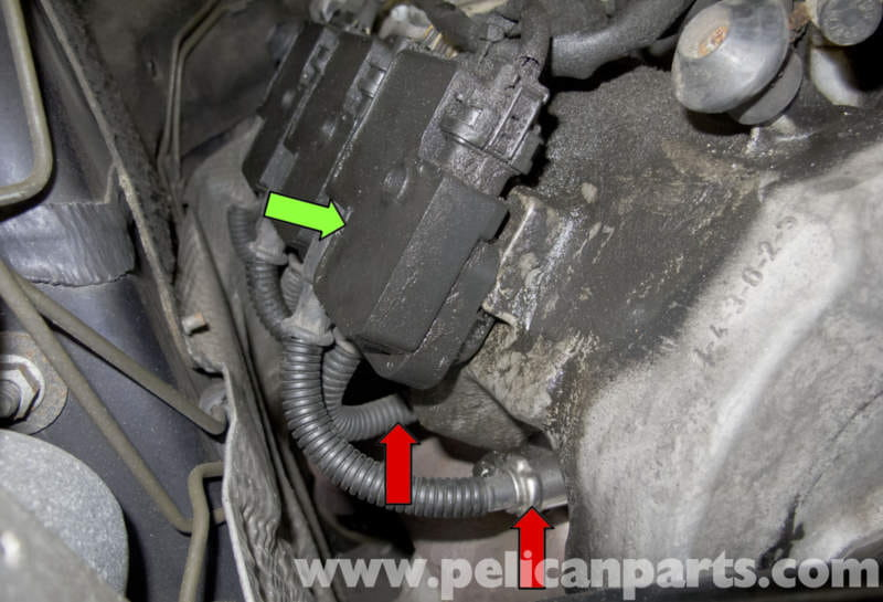 Pic on Mercedes Benz Spark Plug Replacement