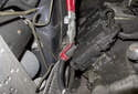 If replacing the wires, use the spark plug pliers to remove the connection at the ignition coil as well.