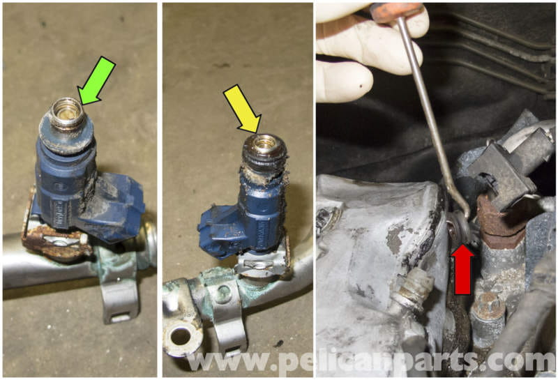 O Ring Lubricant >> Mercedes-Benz W211 6-Cylinder Fuel Injector Replacement ...