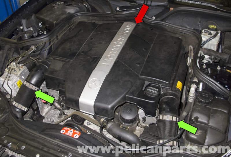 Mercedes Benz W211 Crankshaft Position Sensor Testing