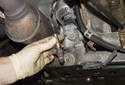 Replacing sensors after catalytic converter: The oxygen sensors are located in the exhaust, behind the catalytic converters.