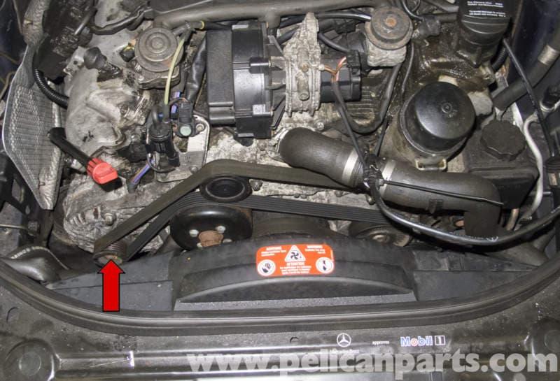 Mercedes Benz W211 Alternator Replacement 2003 2009 E320