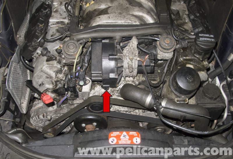 Mercedes-Benz W211 Coolant Temperature Sensor Replacement ...