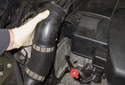 To detach the ducts, pull them straight off the engine cover/air filter housing.