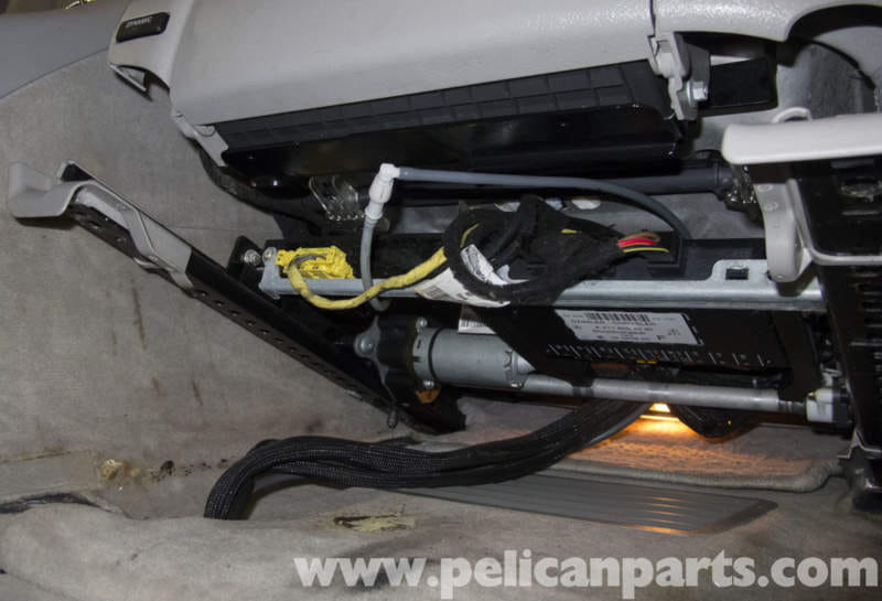Mercedes Benz W211 Seat Removal 2003 2009 E320 E500 E55 Pelican Parts Diy Maintenance Article