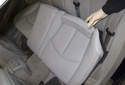 Rear Seat: Fold the seat cushion forward.