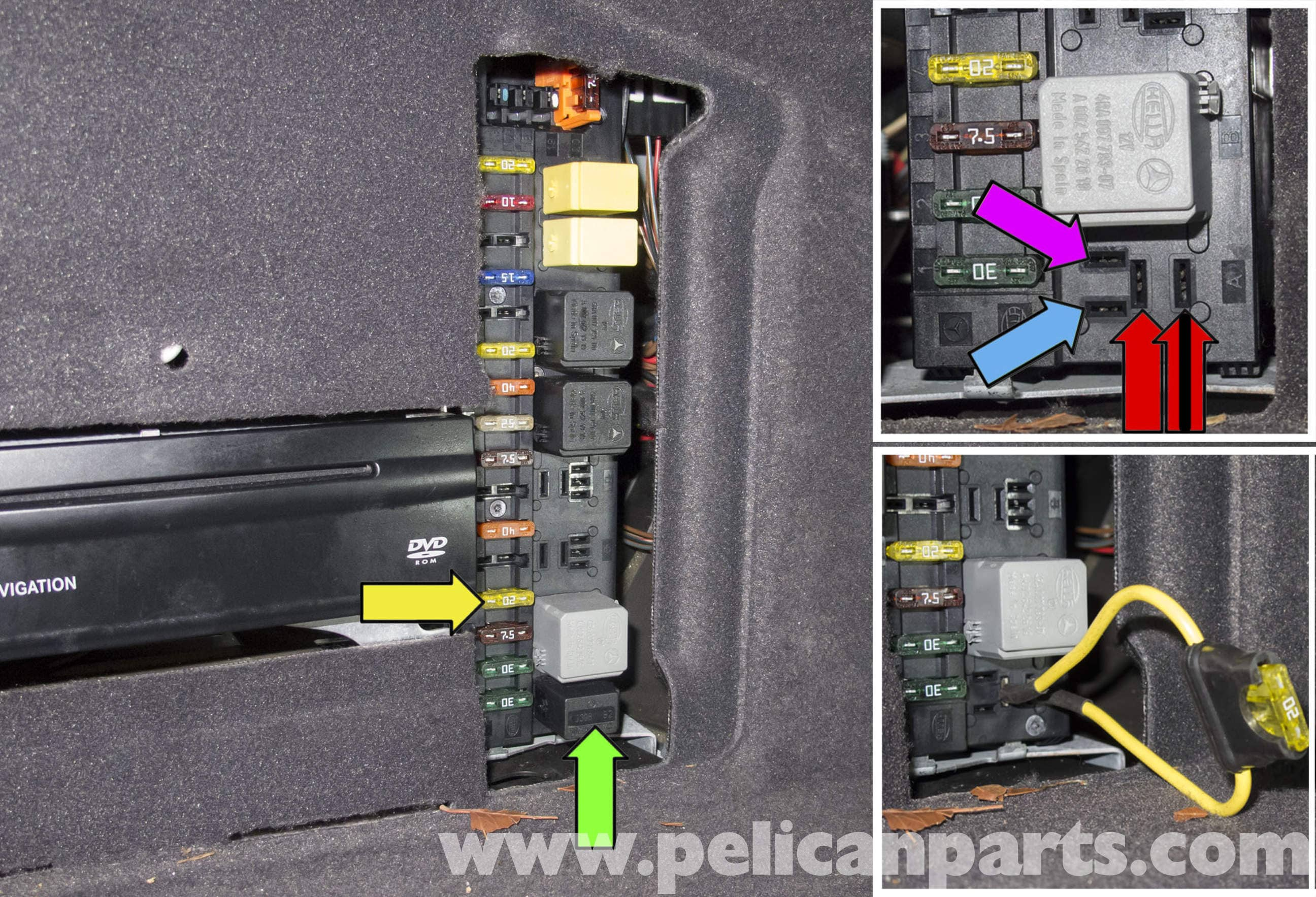 E55 fuel pump relay wiring diy wiring diagrams mercedes benz w211 fuel pump testing 2003 2009 e320 pelican rh pelicanparts com fuel pump relay circuit fuel pump relay circuit cheapraybanclubmaster Gallery