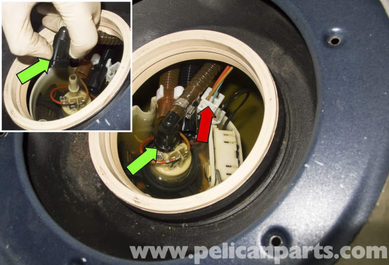 pic10 mercedes benz w211 fuel pump replacement (2003 2009) e320 2005 Yamaha YZF R6 Wiring-Diagram at fashall.co